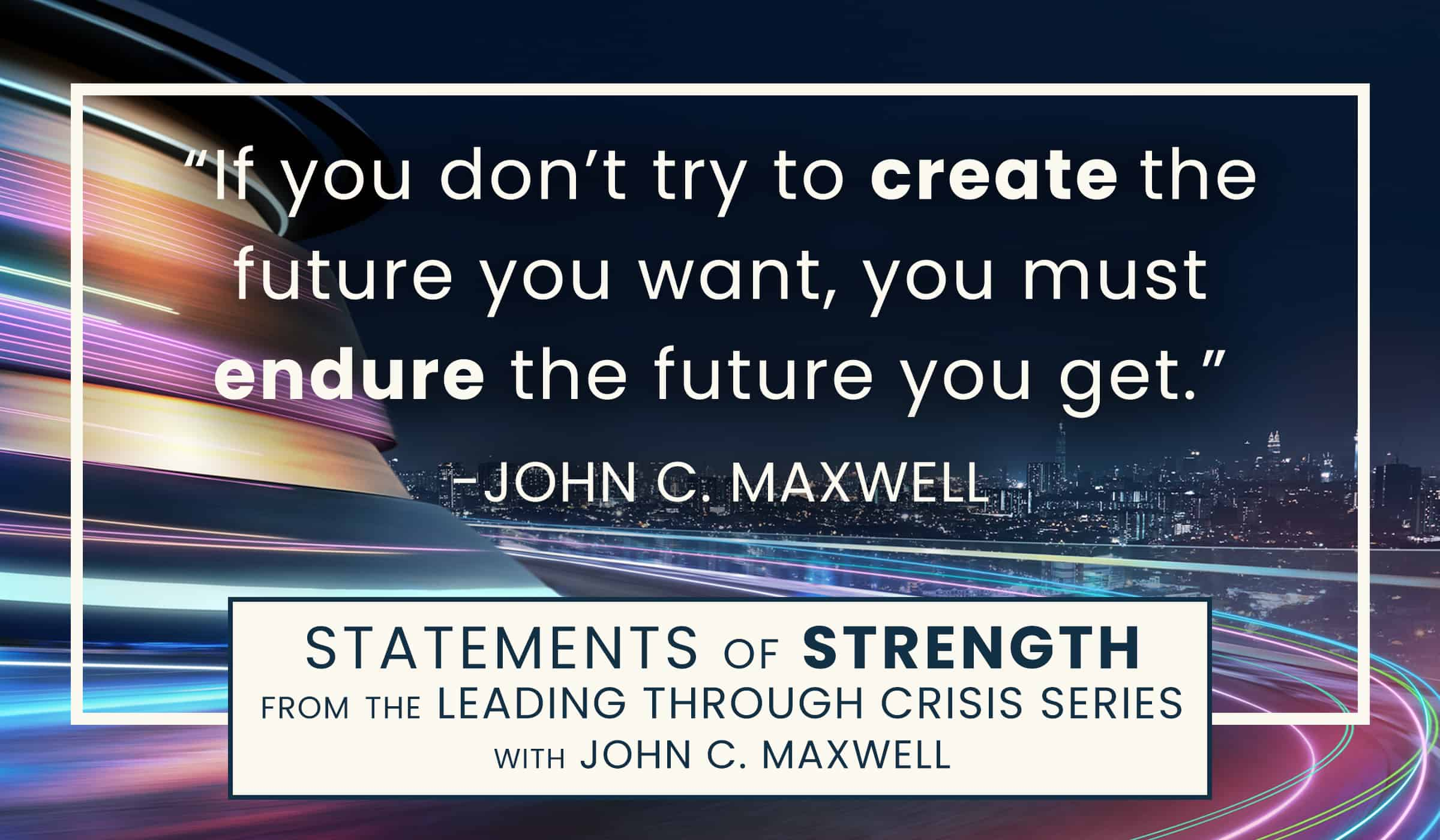image of quotation picture with quote by John C Maxwell