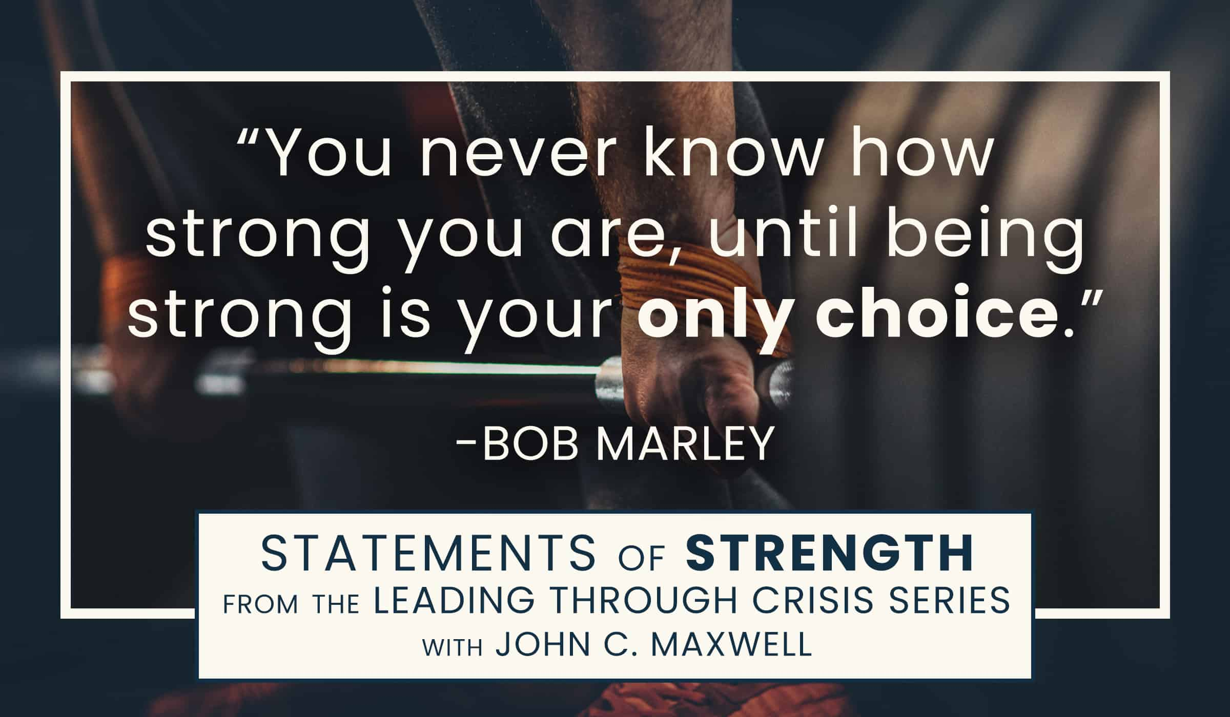 image of quotation picture with quote by Bob Marley