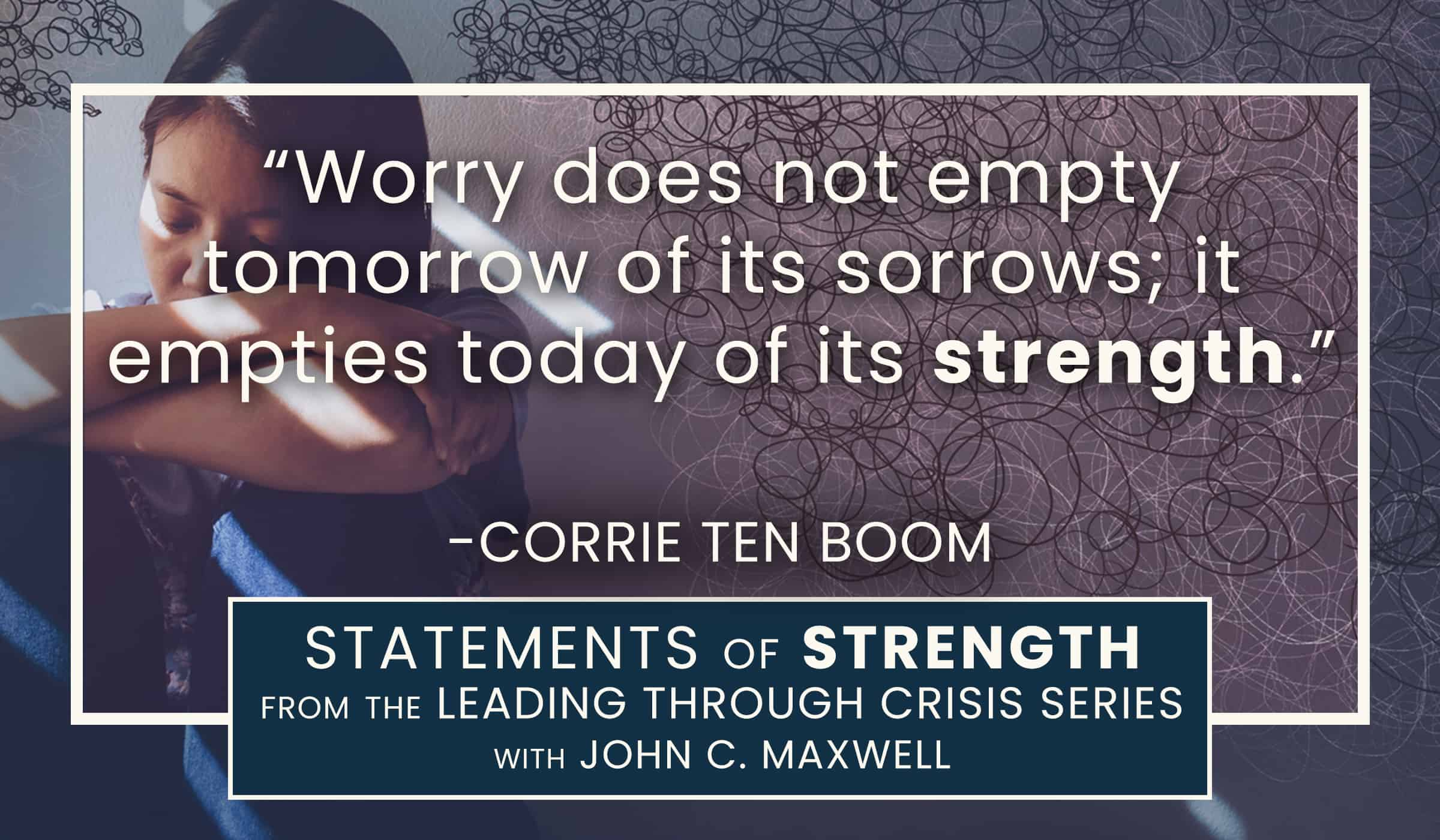 image of quotation picture with quote from corrie ten boom