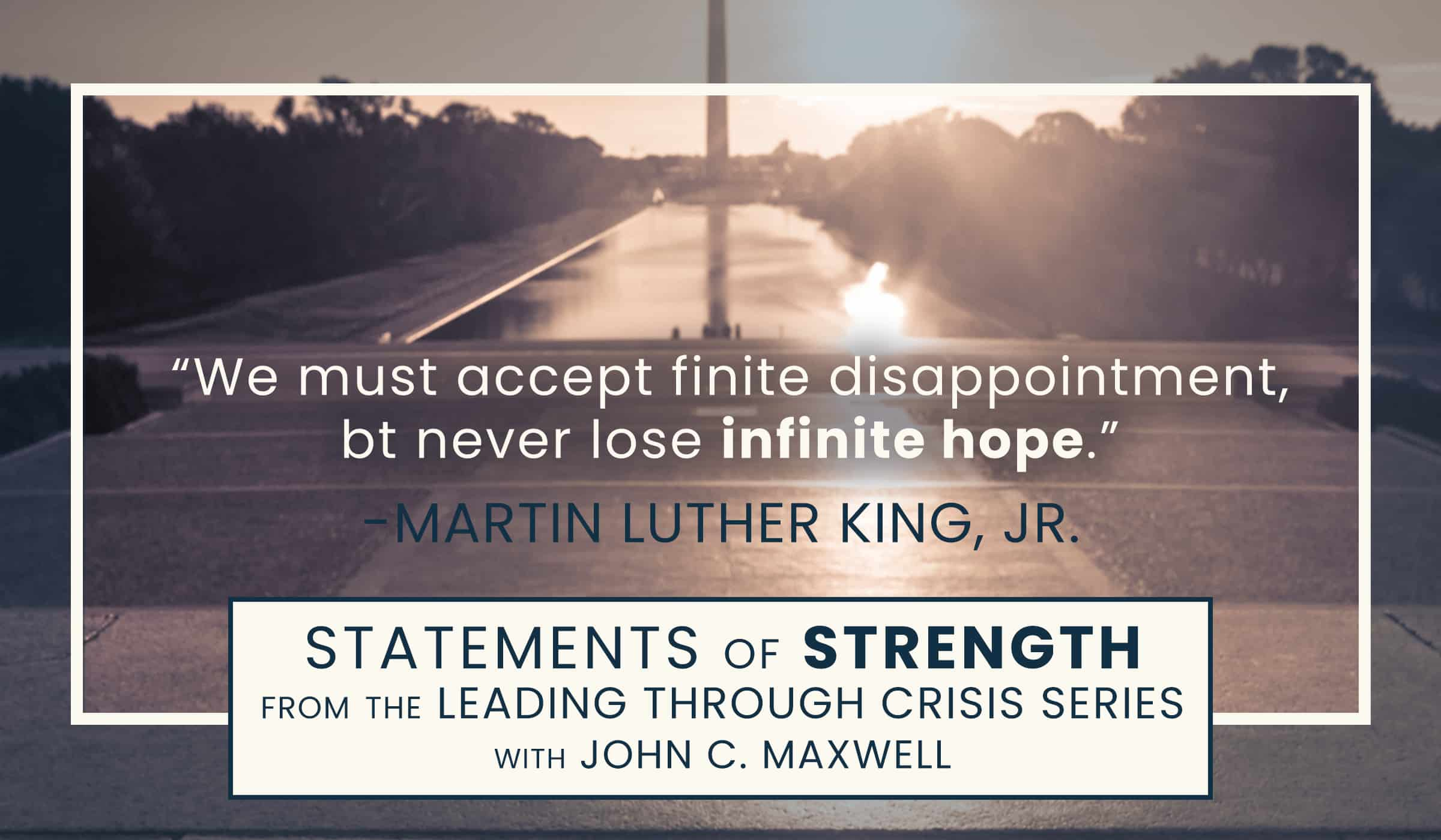 image of quote from dr martin luther king jr