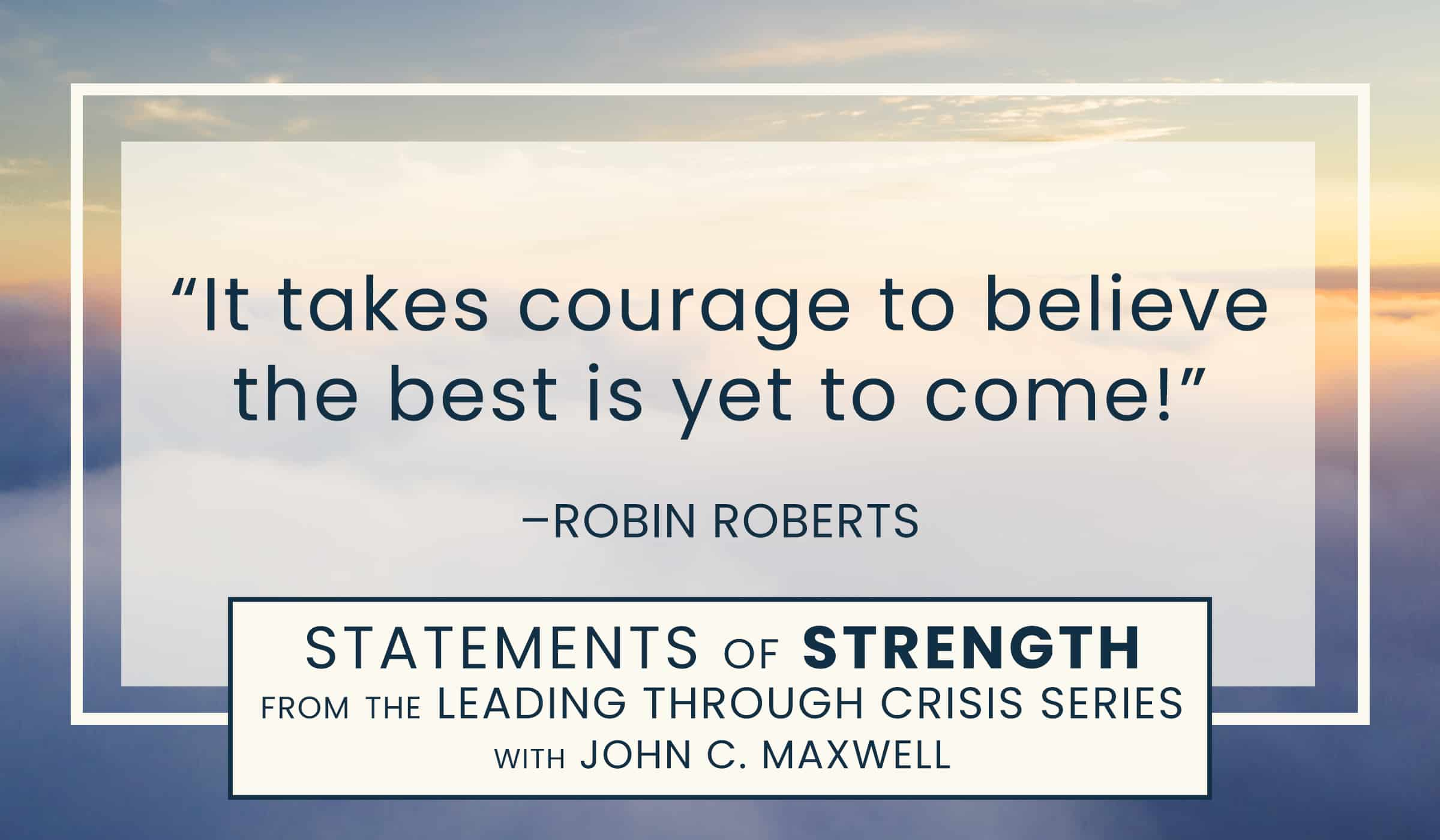 image of quotation picture with quote text of robin roberts